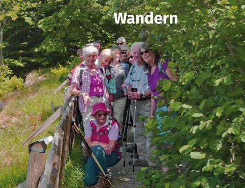 """Die Wandergruppe … unterwegs (""""Rund um St. Ottilien und über den Ottilienberg"""")"""