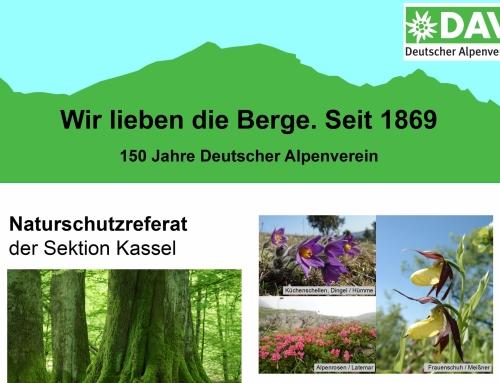 Flyer des Naturschutzreferats
